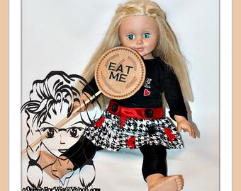 ALiCE CooKIE EaT Me Themed Birthday PHoTO PRoP 4 Parties & Games ~ In the Hoop ~ Downloadable DiGiTaL Machine Embroidery Design by Carrie