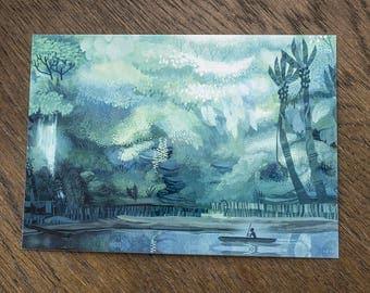 Congo Postcard