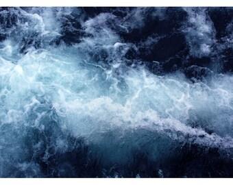 Fine Art Photograph - Nature Photograph - Ocean Art - Summer Print - Water- Lake Superior #5- Beach Photograph - Home Decor - Nautical Decor
