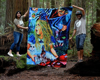 RW2 Alice in Wonderland Tapestry by Robert Walker