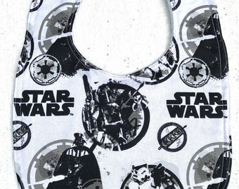 Star Wars Baby Bib - Infant bib - Dribble Bib - Geek baby - Baby Shower Gift - handmade