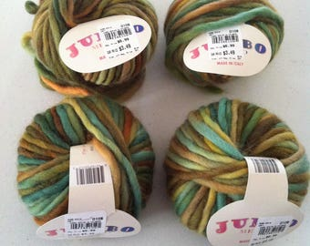 Knitting Fever Jumbo Merino in Olive Brown Super Bulky Yarn 33 yards