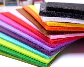 3mm acrylic felt sheets