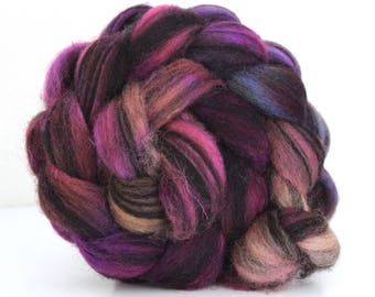 Jacob Humbug Kettle Dyed Wool Top JHT22  100g - 3.5oz