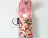 Lip balm Keyring, Lip balm holder, Spring, gift for her under 10 dollars, Easter basket gift, Mother's Day, treat yourself
