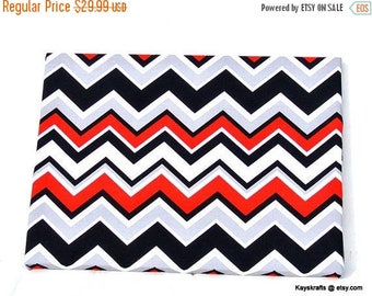 Christmas In July 30% Off Red Black White Chevron Magnet Cork Board, ZigZag Magnetic Cork Board, Magnetic Cork Bulletin Board, Magnetic Pin