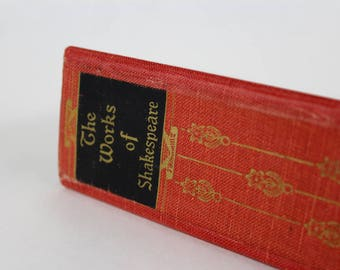 Clutch Purse -Shakespeare- made from recycled vintage book by Rebound Designs