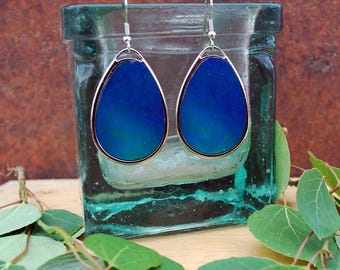 Northern sky aurora earrings
