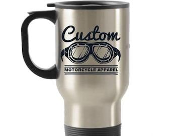 Custom Apparel Stainless Steel Insulated Travel Mug