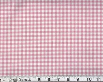 MadieBs Pink and White Gingham Check  Toddler or Crib Sheet set 3 piece personalized