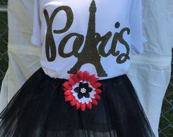 Doll clothes that fit the American girl matching shirts and tutus