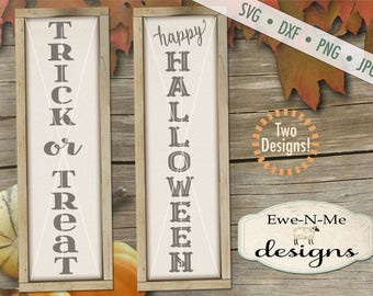 Halloween svg - Trick or Treat svg - Happy Halloween svg - halloween svg bundle  -  fall svg bundle - Commercial use svg, dxf, png and jpg