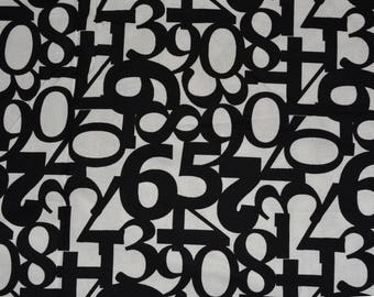 MICHAEL MILLER fabric First Numbers novelty fabric quilting apparel sewing cotton fabric Patt #CX3714