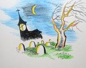Custom Halloween Cards (5 Custom Cards)