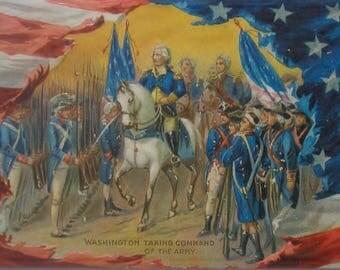 Vintage Tuck Patriotic Postcard