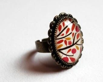 Vintage small OWL ring BAOV1B