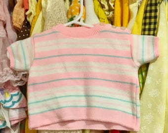 70s Baby Sweater 0/3 Months