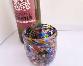 Multicolored Wine Cup