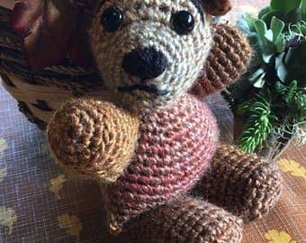 Cute little crocheted bear