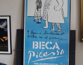 BECA Picasso Poster Foundation Scholarship Announcement