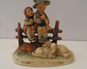 "Hummel Figurine ""Eventide"" #99 TMK2"