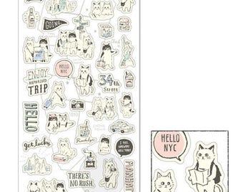 Whim Travel Cat Sticker • Mind Wave Sticker (78213)