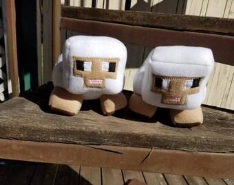 Minecraft inspired sheep