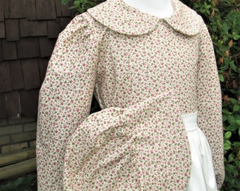 Laura Ingalls size 10/12 Pioneer dress Girls (PLEASE read full details in ad with measurements and shipping details)