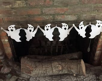 Ghost Garland Halloween Party Decoration