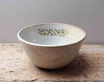 Rustic Forest Cereal Bowl