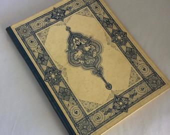 Rubaiyat of Omar Khayyam, hardcover, The Heritage Press, NY, 1946 edition, illuminations, Persian poetry, Edward Fitzgerald, translation