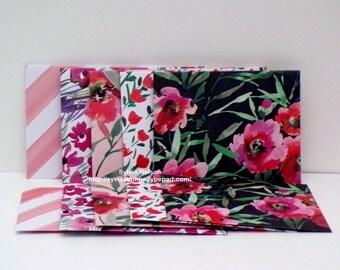 "10 Mini Envelopes..3 1/4"" x 4 1/8""...Spring Envelopes arrived..Use for Birthdays...Pay It Forward...Lunch Notes..Shower gift card envelopes!"