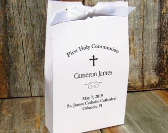 Boys Communion - First Communion Favors - First Holy Communion - Communion Favors - Holy Communion Favors - Favor Boxes