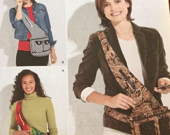 Simplicity 2275 Day Bags Purse Bag pattern uncut  Easy Sewing Pattern