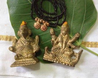 Ganesh & Narmada for Diwali Puja