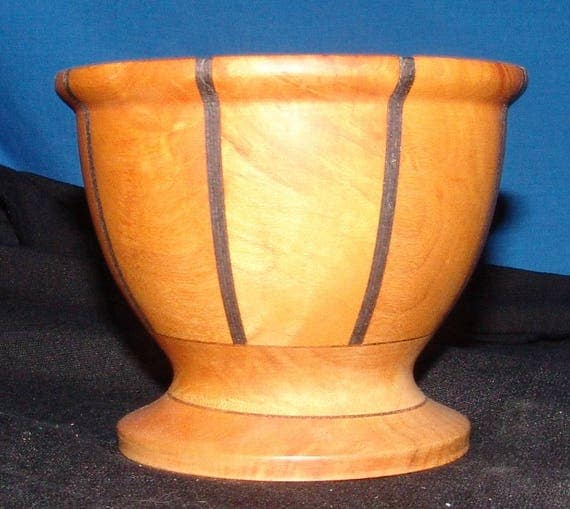 Cherry and Maple Wood Turned Bowl – A Small Work with Presence