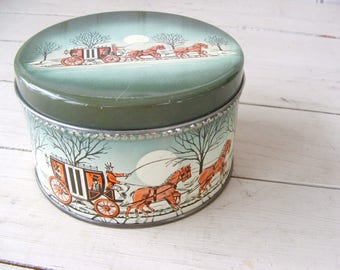Old Cherrydale Farms Cashew Butter Crunch Candy Nut Tin