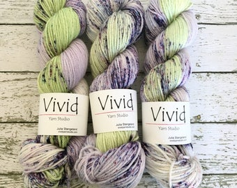 SWEET SONG - Hand Dyed Yarn - Superwash Merino Worsted - Ready to Ship - Vivid Yarn Studio