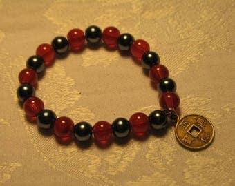 Good Luck Safe Travel Amulet Talisman Omamori Charm Bracelet