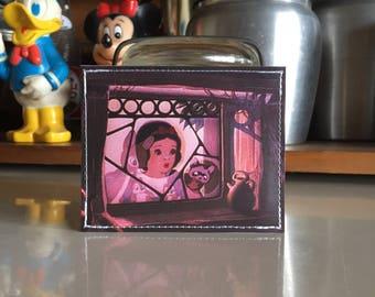 Snow White Disneyland Map Mini Wallet