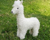 Ally the Alpaca Toy Knitting Pattern, Waldorf, PDF, Instant Digital Download