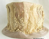 Antique Lace Hat Perfect for an Edwardian Wedding
