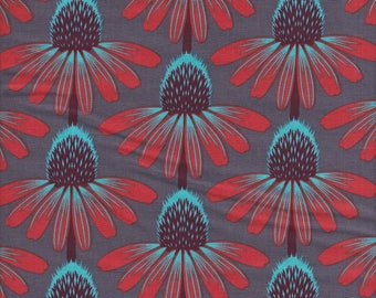 Anna Maria Horner Floral Retrospective Echinacea in Berry - Half Yard