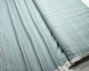 Cotton Jersey Avanlana 19-401 Stripe white green 0.54yd (0,5m) 003945