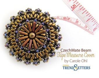 CzechMate Beam Tape Measure Cover Tutorial by Carole Ohl