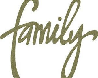Family Vinyl Car Decal Bumper Window Sticker Any Color Multiple Sizes Jenuine Crafts