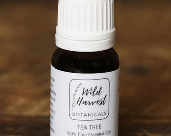 100% Pure Organic Tea Tree Oil (10 ml)