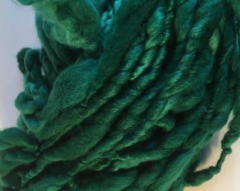 Grass Green Mini Hank Merino Chunky Yarn