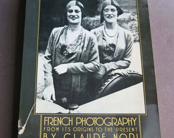French Photography by Claude Nori 1979, Pantheon Books, Photographs France 19th to 20th Century, French Life Black & White Photography