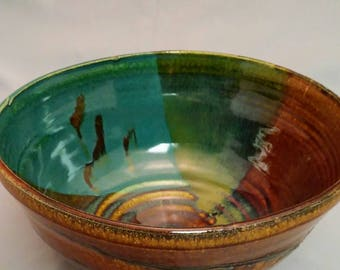 Multicolored bowl